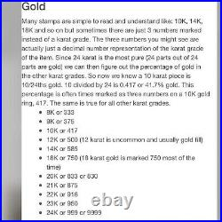 18K Saudi Yellow 750 Gold Fine Womens Dangle Earring 3.6g 2.5 Long USA SELLER