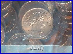 1997 United Arab Emirates UAE 200 Pieces of 1Fils Coin Unopened Bank Bag UNC FAO