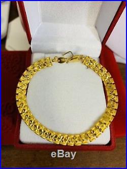 22K Saudi Gold Unisex Bracelet 7