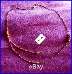 22k 22ct Yellow Indian Gold Necklace