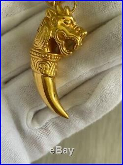 22k Mawsim UAE Dragon Pendant