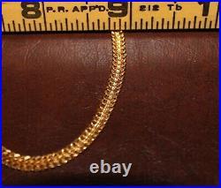 22k Solid Gold Mens Bracelet 10