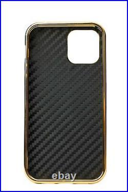 24K Gold Luxury Magnetic Case for iPhone 12 Range