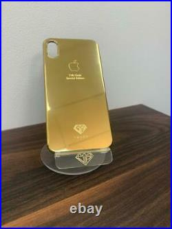 24kt Gold PC Hard Case for iPhone XS Max