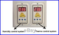 (4 in 1) 150 Egg Chicken Incubator, Digital & Auto, Battery & Solar powered