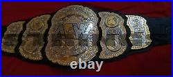 AEW World Heavyweight Champion Wrestling Belt Replica Adult Size Championship
