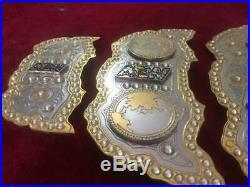 AEW World Heavyweight Championship leather Belt 4mm