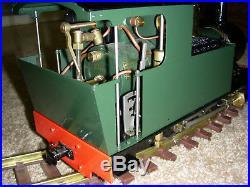 Accucraft Live Steam Model Wrekin 0-6-0 Side Tank Locomotive