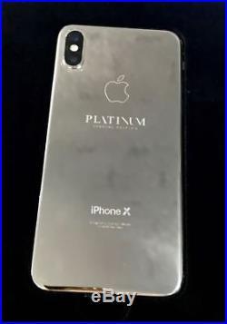 Apple iPhone 256GB Space Gray (Unlocked) A1901 Platinum Edition