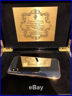 Apple iPhone 64GB Space Gray (Unlocked) / 24kt Black & Gold Edition