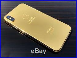 Apple iPhone X 64GB 24kt Gold Special Edition