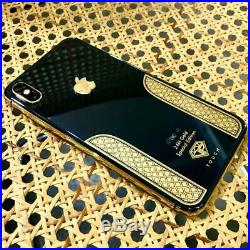 Apple iPhone XS 64GB Space Gray / 24kt Black & Gold Edition