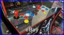Arcade 1Up Mortal Kombat Walmart Exclusive machine + Riser