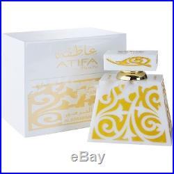 Atifa Blanche by Al Haramain Lime Rosy Lily Vanilla Ambery Perfume Oil 24ml
