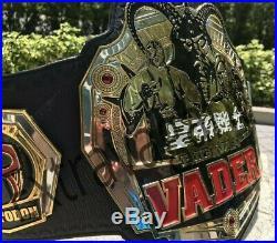 Big Van Vader Wrestling Championship Belt Adult Size