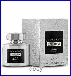 Confidential Private white Pure Parfum Perfume for 100Ml New in Box Rare