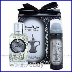 DIrham 100ml By Ard Al Zaafaran EDP Perfume Spray with Deodorant inside the box