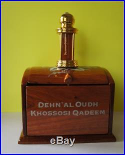 Dehnal Oudh Khossosi Qadeem agarwood perfume oil 6ml Al Haramain Aged Khasoosi