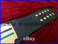 ECW World Heavyweight Wrestling Championship Belt 2mm Plates