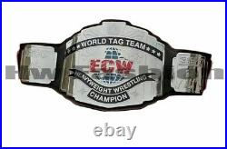 ECW World Tag Team Championship Belt Adult Size 2mm Zinc Plates