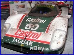 EXOTO 1/18 JAGUAR XJR-9 #60 Finish Line by artist Pro-modeler Dennis KOLEBER
