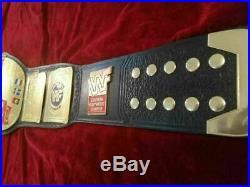European Championship Wrestling Belt (2mm) Plate