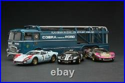 Exoto 43 1966 Ford GT Mk II Transporter at Le Mans # EXO00017