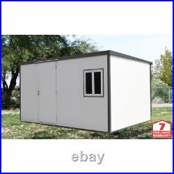 Flat Top Insulated Buildings 13 ft. W x 10 ft. D