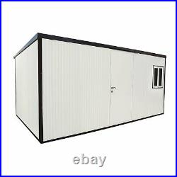 Flat Top Insulated Buildings 16 ft. W x 10 ft. D