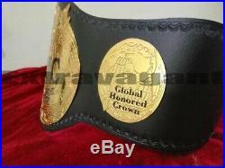 GHC Heavyweight Championship Wrestling Belt Adult Size