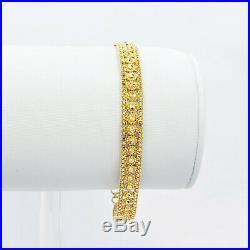 GOLDSHINE 22K Solid Gold Women Bracelet 6.5-7 Genuine Hallmark 916 Handcrafted