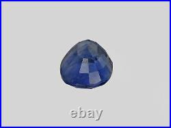 GRS Certified KASHMIR Blue Sapphire 4.09 Cts Natural Untreated Intense Blue Oval