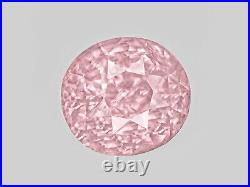 GRS Certified SRI LANKA Padparadscha Sapphire 2.65 Cts Natural Untreated Oval
