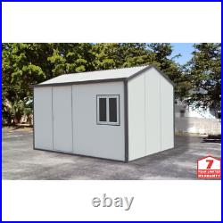 Gable Top Insulated Building 13x10