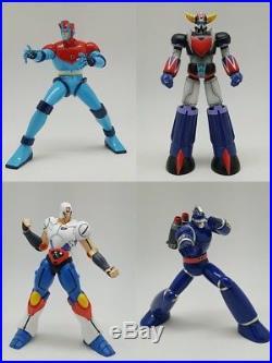 Grendizer Astroganga, Jhomaro, Tetsujin 28. Per Painted Statues 15 Cm