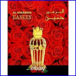 Haneen By Al haramain 25 ml Arabic Perfume Oil Fragrance for Men and Women