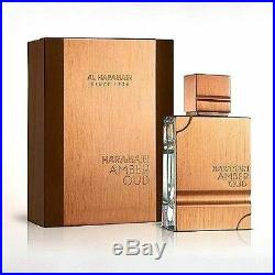 Haramain Amber Oud Unisex Edp 2.02 Oz / 60ml (gold Edition)