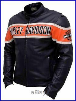 Harley Davidson Biker Leather Jacket New Year 2019 Special Jacket DESIGN