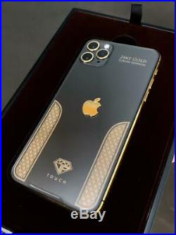 IPhone 11 Pro Max 256GB Space Gray / Black & Gold Luxury Edition