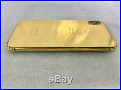 IPhone XS Max 256GB 24kt Gold Special Ediiton (Single Sim) Space Gray