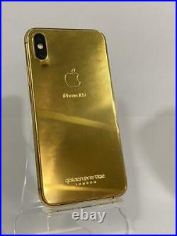 IPhone XS Max 256GB 24kt Gold Special Edition / Dual Sim / Space Gray