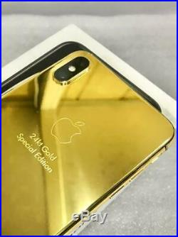 IPhone XS Max 512GB 24kt Gold Special Edition / Dual Sim / Space Gray