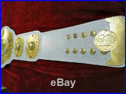 IWGP Intercontinental Championship Belt Adult 2mm Plates With Dual Size