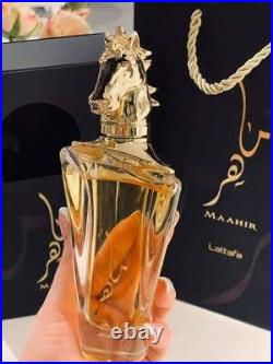 MAAHIR EDP Perfume By Lattafa 100 ML Top Tier Free Shipping ORIGINAL