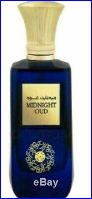MIDNIGHT OUD ARD AL ZAAFARAN 3.4oz/100ml Unisex Perfume Made in UAE