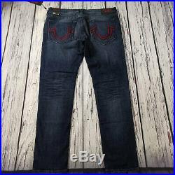Men's True Religion x Manchester United Jeans 42 x 34 (Tag 40) Geno Slim LegBNWT