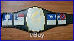 Mid Atlantic Championship Belt adult size 2mm plates