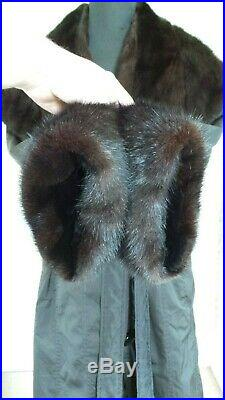Mink Jacket Coat Real Fur Sheared Mink Lining RRP£850