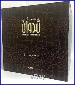 Mukhallat Tharwaan by Ajmal 12 ML CPO, Attar, Free from Alcohol. Agarwood