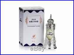 Musk Abiyad 20ml Concentrated Perfume Oil by Afnan